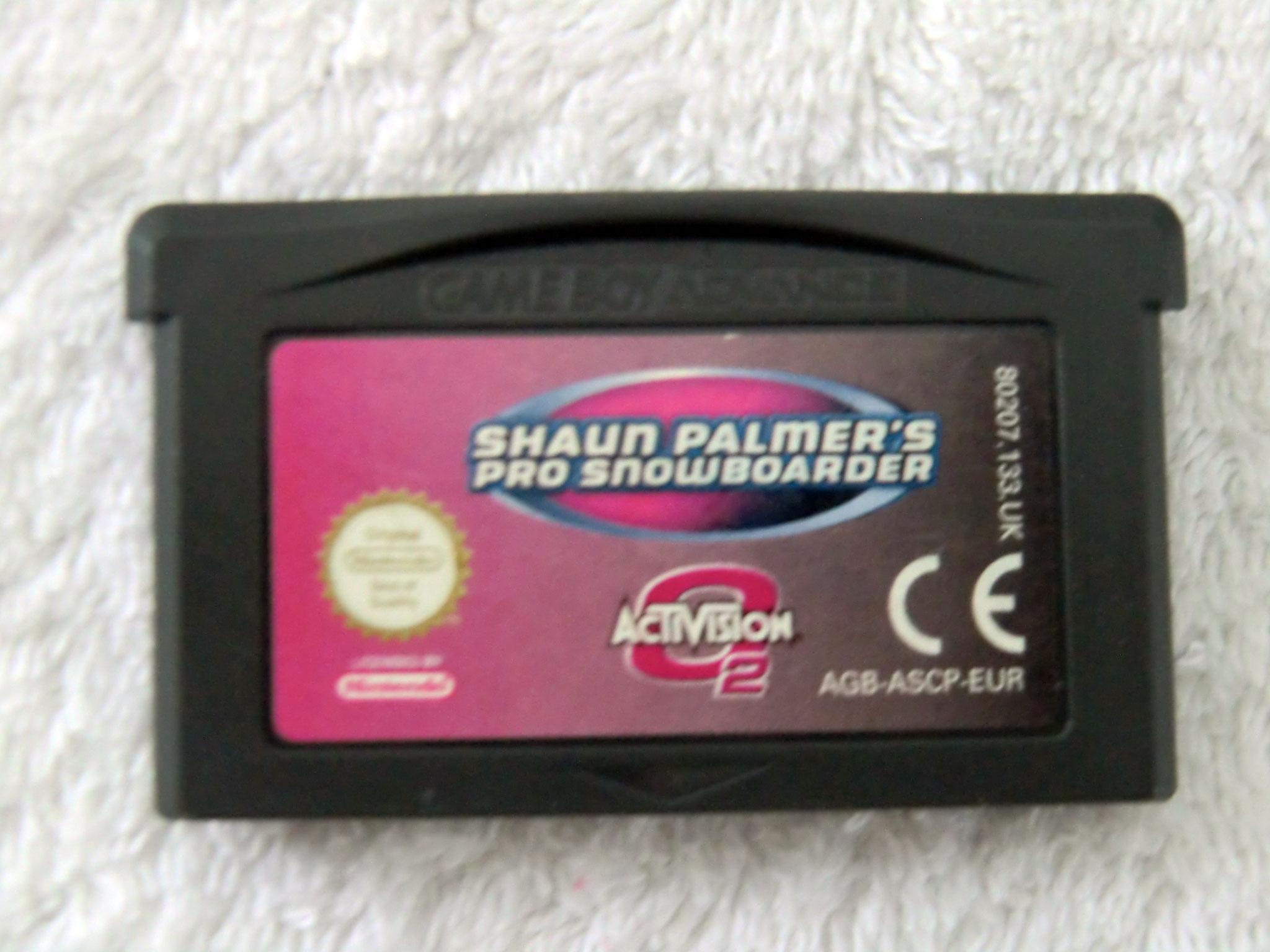 Game Boy Advance - Shaun Palmer's Pro Snowboarder - () AGB-ASCP-EUR